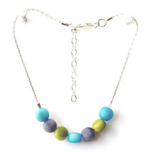 Blue Dulcet style bracelet by Encanto Jewelry - Multi Color