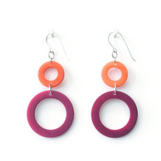 Red Encanto Jewelry Cavatina Earrings - Multi Color