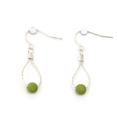 Encanto Prelude Earrings Green - Multi Color