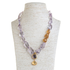 Lilac Necklace by Nava Zahavi - New Arrival