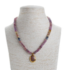 Adornments Sapphire Necklace - New Arrival