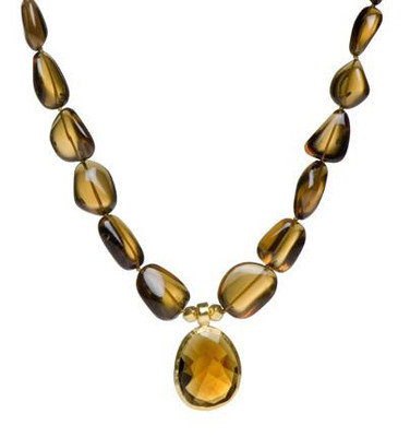 Cognac Necklace by Nava Zahavi - New Arrival