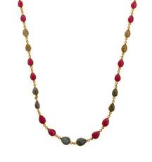 Colorful Sapphire Necklace by Nava Zahavi