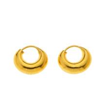 Bombay 18K Gold Gypsy Earrings by Nava Zahavi - New Arrival