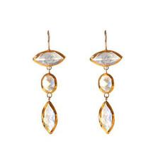 Chandelier Moonstone Earrings - New Arrival