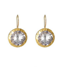 Clear Crystal Earrings by Nava Zahavi - New Arrival