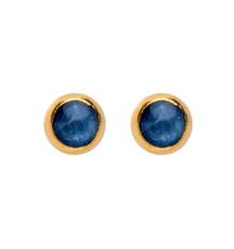 Deep Kyanite Earrings by Nava Earrings - New Arrival