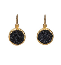 Black Lady Earrings by Nava Zahavi - New Arrival