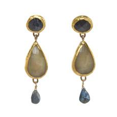 Combination Earrings by Nava Zahavi - New Arrival