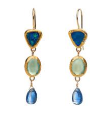 Deeper Blue Earrings by Nava Zahavi - New Arrival