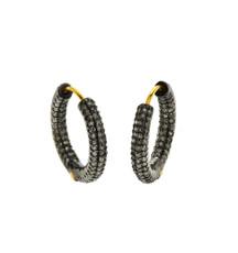 Diamond Hoop Earrings by Nava Zahavi - New Arrival
