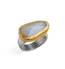 Blanca Moonstone Ring by Nava Zahavi