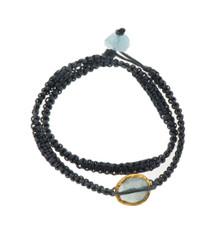 Stormy Aquamarine Bracelet - New Arrival