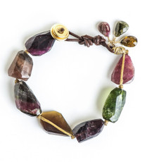 Colorful Tourmaline Bracelet - New Arrival