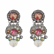 Ayala Bar Como Tiny Petal Of A Rose Earrings - New Arrival