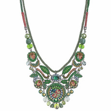 Ayala Bar Daylily Rose Garden Necklace - New Arrival