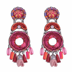 Ayala Bar Gaillardia Dragonfruit Earrings - New Arrival