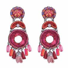 Ayala Bar Gaillardia Dragonfruit Earrings