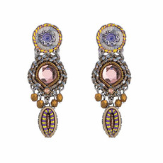 Ayala Bar Purple Rain Shooting Star Earrings - New Arrival