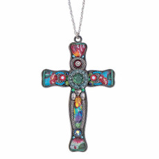 Ayala Bar God We Trust Large Cross Pendant Necklace - New Arrival
