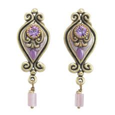 Michal Golan Lilac Style Earrings