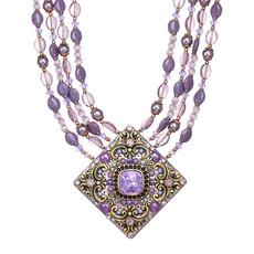 Michal Golan Michal Golan Lilac Large Diamond Necklace