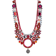 Ayala Bar Crimson Voyage Sip of Sangria Necklace - New Arrival
