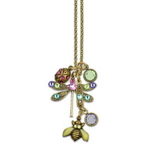 Anne Koplik Bug Out Necklaces