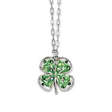 Anne Koplik Four Leaf Clover Shamrock Necklaces