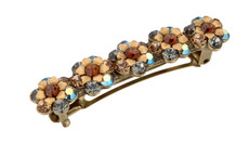 Michal Negrin Jewelry Browns Hair Brooch