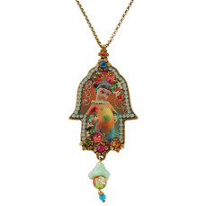Jewish Hamsa Necklace By Michal Negrin - Multiple Options