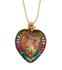 Michal Negrin Crystal Heart Necklace - Multiple Options