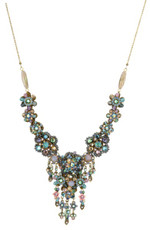 Michal Negrin Jewelry Crystal Flowers Necklace - 100-106580-030 - Multiple Options