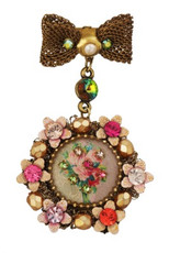 Michal Negrin Jewelry Victorian Pin - Multiple Options