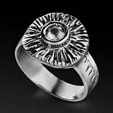 Ani Ledodi Silver Ring for Unconditional Love
