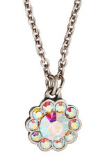 Michal Negrin Jewelry Silver Flowers Necklace - 110-030150-001 - Multi Color