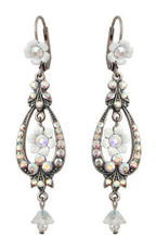 Michal Negrin Jewelry Silver Bell Flower Hook Earrings - Multiple Options