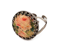 Michal Negrin Jewellery Silver Adjustable Ring