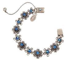 Michal Negrin Jewelry Silver Flowers Bracelet - 110-113000-019