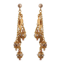 Michal Negrin Jewelry Gold Leaves Earrings - Multiple Options
