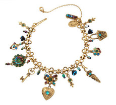 Michal Negrin Jewelry Gold Bracelet - Multi Color