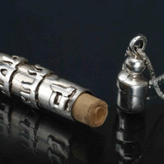 Silver Kabbalah Jewelry Amulet Pendant