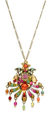 Michal Negrin Jewelry Multi Fan Necklace