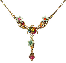 Michal Negrin Jewelry Flower Necklace - 100-108140-056