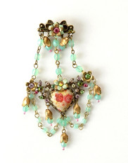 Michal Negrin Jewelry Flower Hair Brooch Accessories - 100-108220