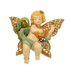 Michal Negrin Jewelry Cherub In A Butterfly Clip Accessories