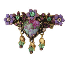 Michal Negrin Jewelry Flower Hair Brooch Accessories - 100-108210-129 - Multi Color
