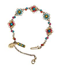 Michal Negrin Jewelry Crystal Flowers Bracelet - 100-110030-058 - Multi Color