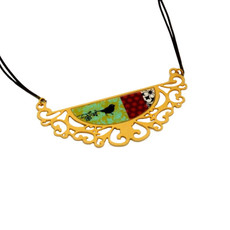 Iris Designs Change of Season Necklace