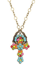Michal Negrin Classic Cross Necklace